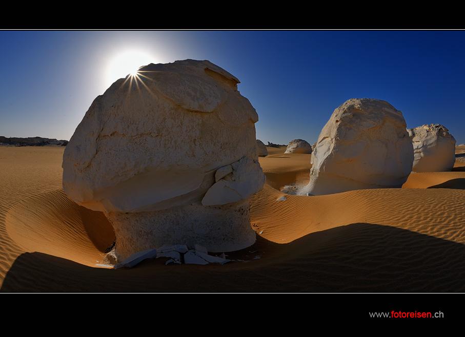 Immer wieder schön - Die Weisse Wüste