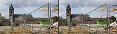 Immerath Dom - heute beginnt der Abriss (3D)