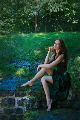 Immersed in green - Versunken in grün