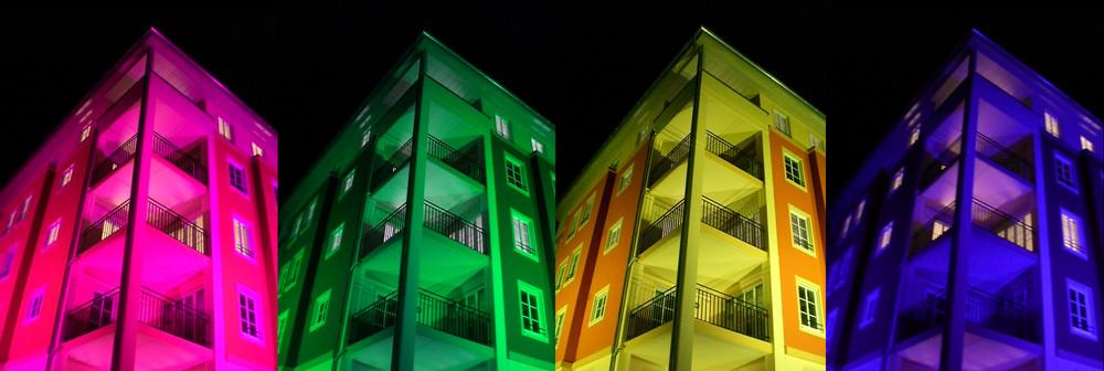 Immeuble neuf en couleurs pour la fête de Pâques - '7'
