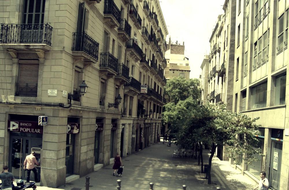 Immeubles de Barcelone.