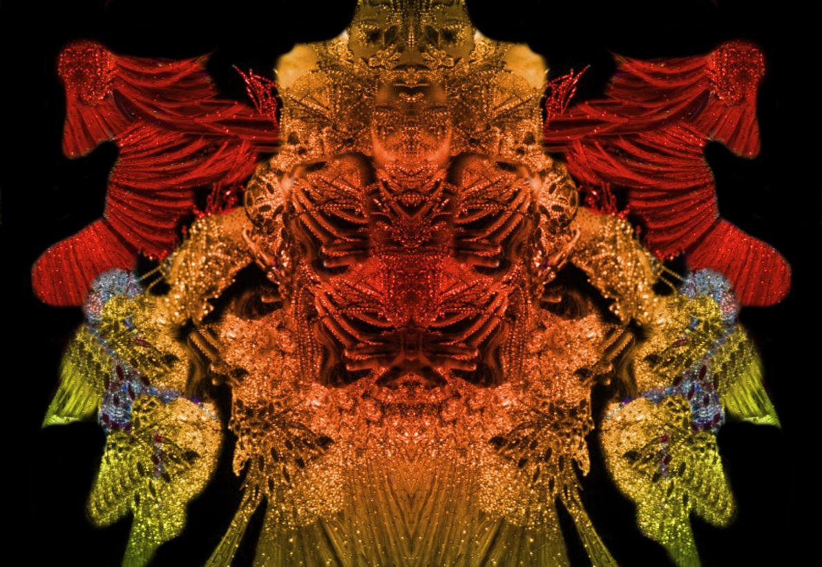 Imposante buddhistische Erscheinung