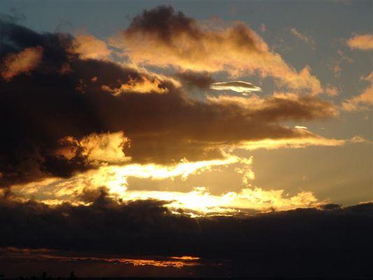 Imposante Himmelsstimmung