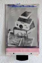 IMPOSSIBLE silver shade 8x10 inch lot:001
