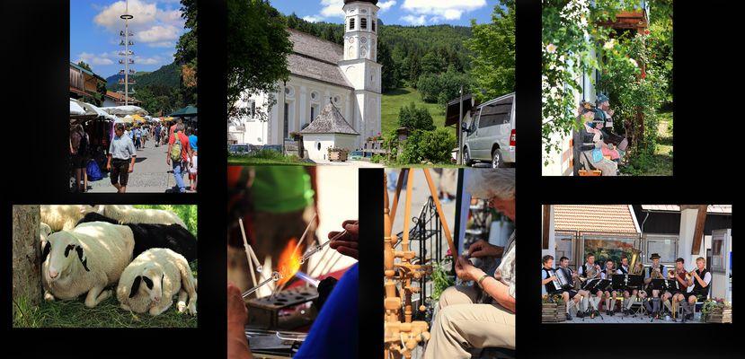 Impresionen vom Sachranger Bauern- und Kunst-Handwerker-Markt
