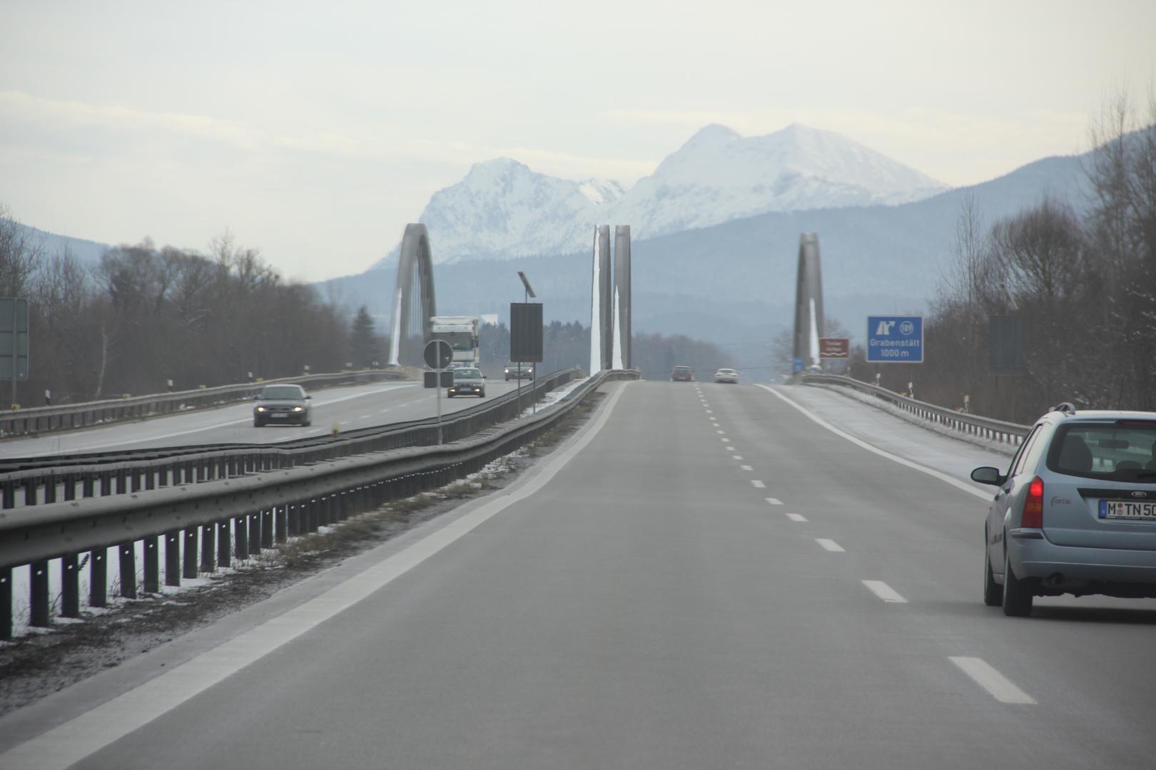 Impression auf der Autobahn