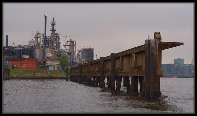 Impression aus dem Industriehafen