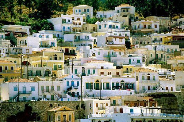 Impression aus Pothia, Kalymnos
