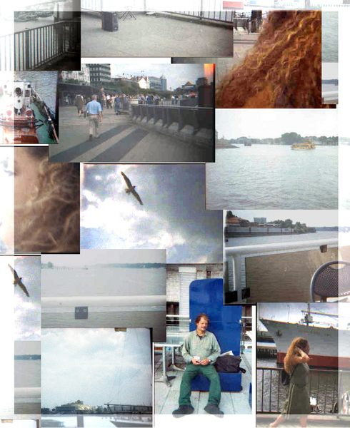 Impression des hamburger Hafen in Lomo