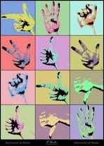Impression of Hands