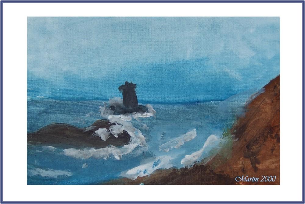 Impressionen am Meer - gemalt von MARTIN aus Lohmar im Rhein-Sieg-Kreis