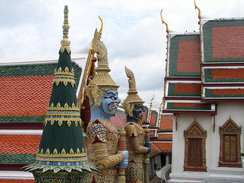 Impressionen aus dem Wat Phra Kheo