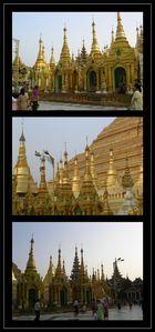 Impressionen der Shwedagon-Pagode