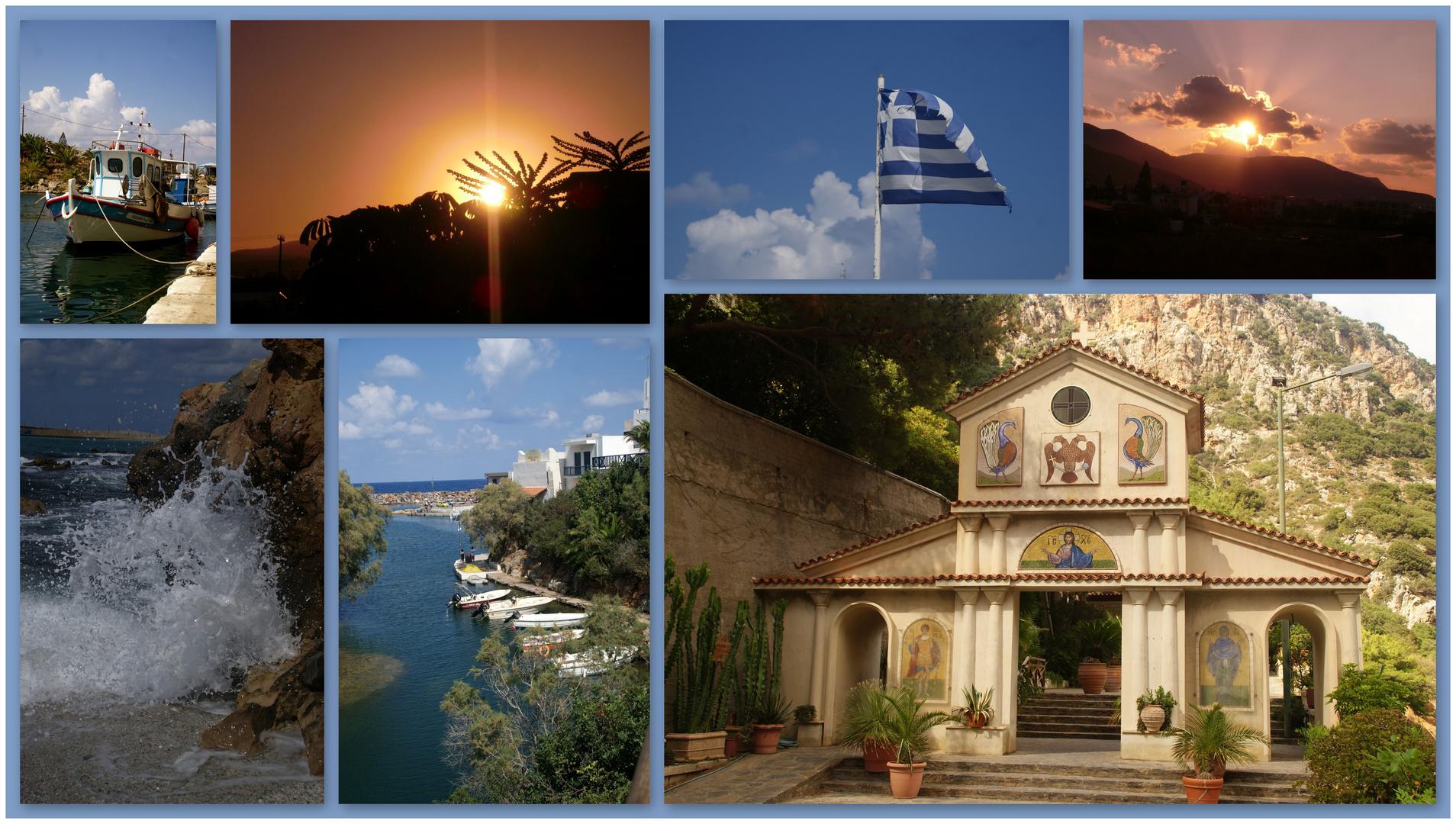 Impressionen des Kreta-Urlaubs...