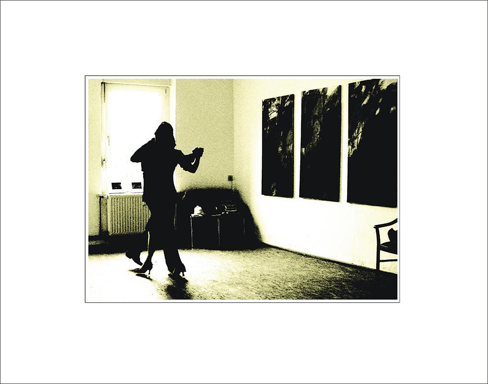 Impressionen einer Ausstellung - Der letzte Tango