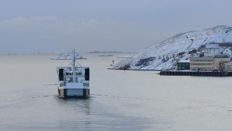 Impressionen einer Seereise im Winter 2