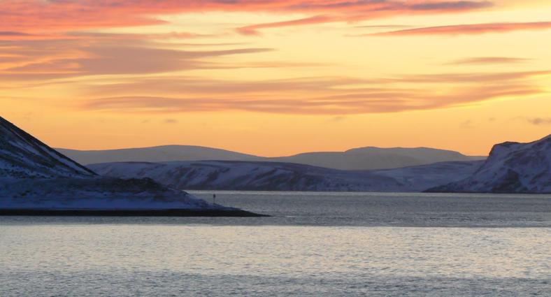 Impressionen einer Seereise im Winter 6
