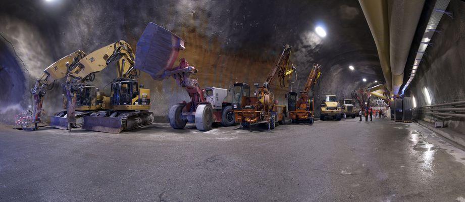 Impressionen Gotthard Basistunnel 4