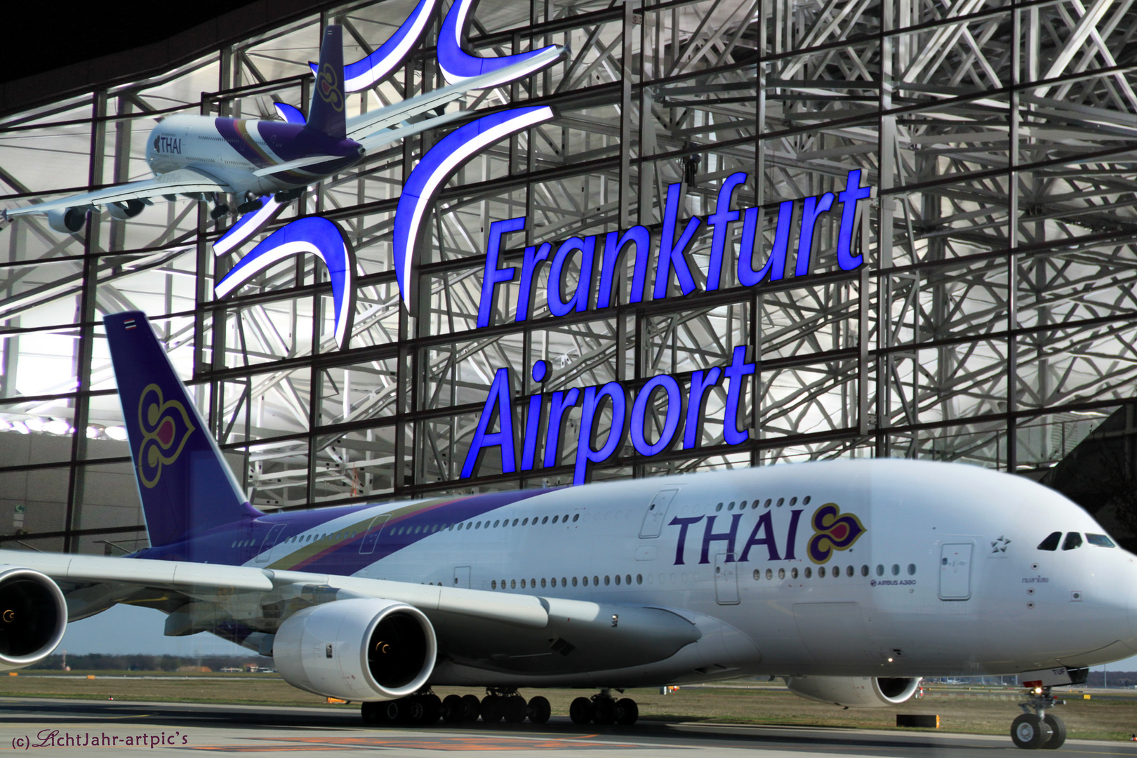 Impressionen vom A380