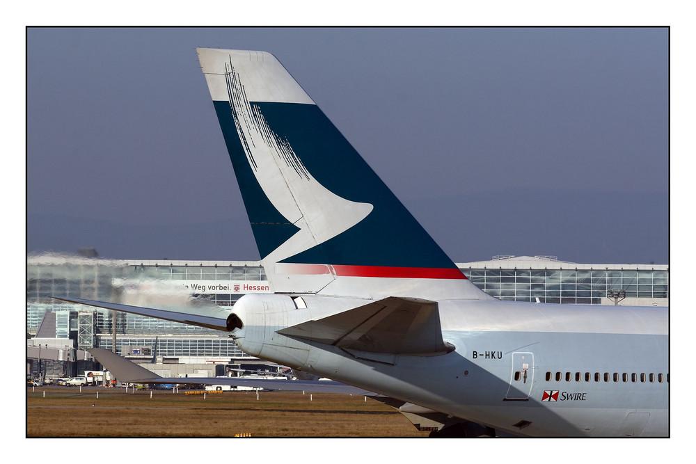 Impressionen vom Flughafen Frankfurt - 79