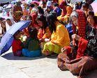 Impressionen vom Maskenfest in Thimphu VIII