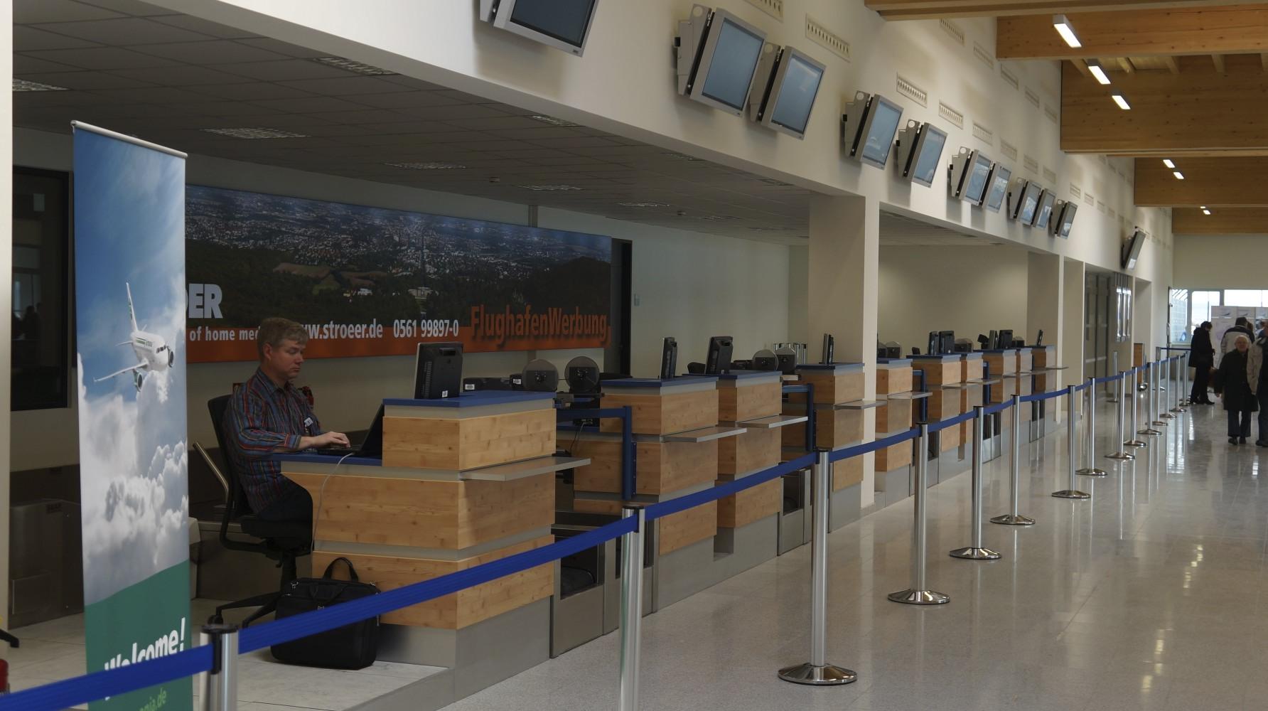 Impressionen vom neuen Flughafen Kassel - Calden 3