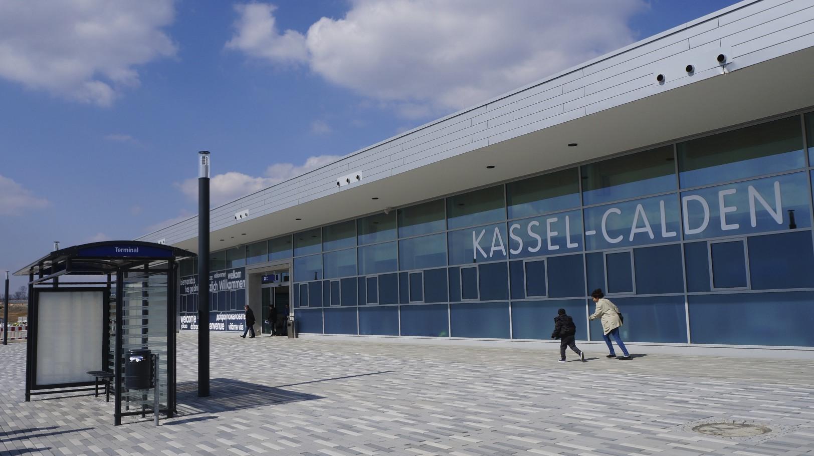 Impressionen vom neuen Flughafen Kassel - Calden