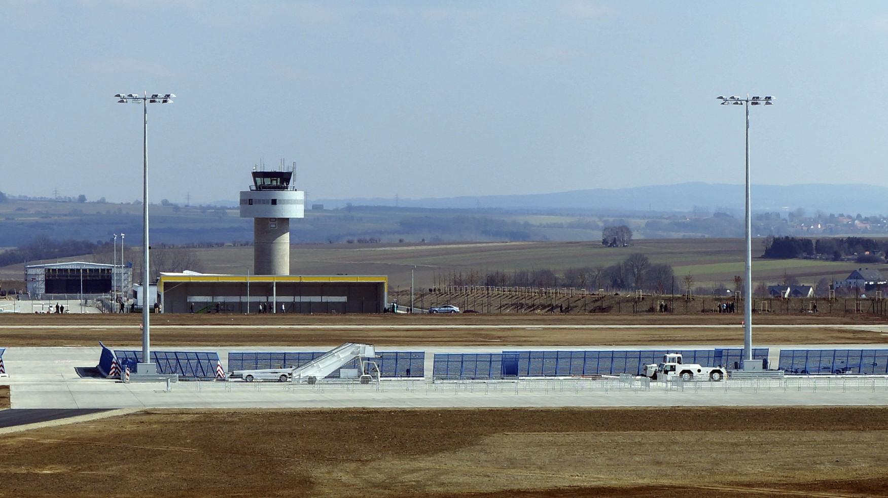 Impressionen vom neuen Flughafen Kassel - Calden 9