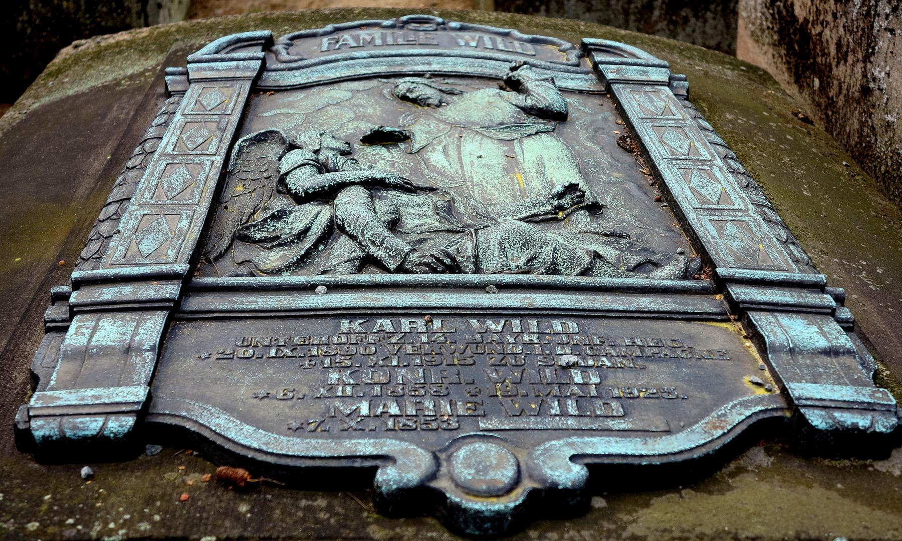 Impressionen vom Rochusfriedhof in Nürnberg