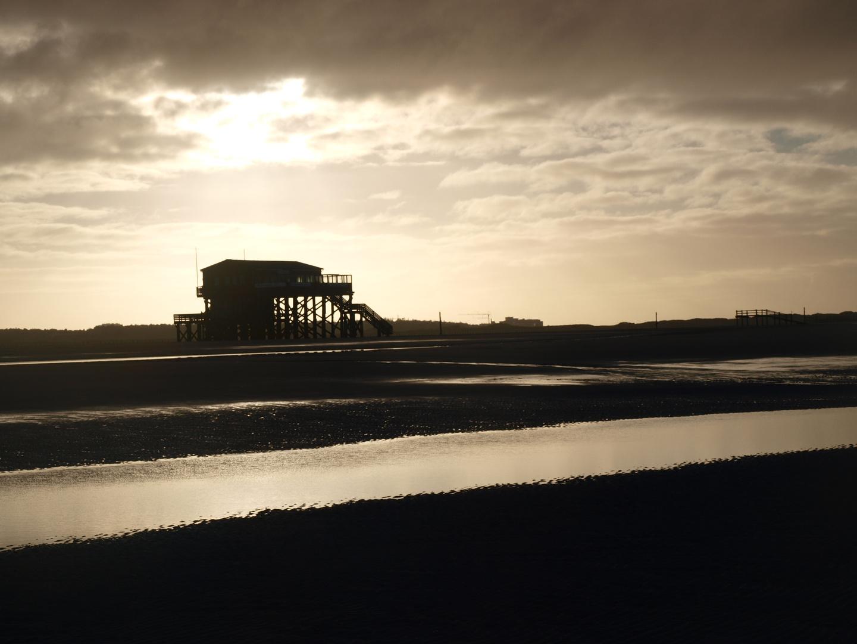 Impressionen vom Strand in St. Peter Ording