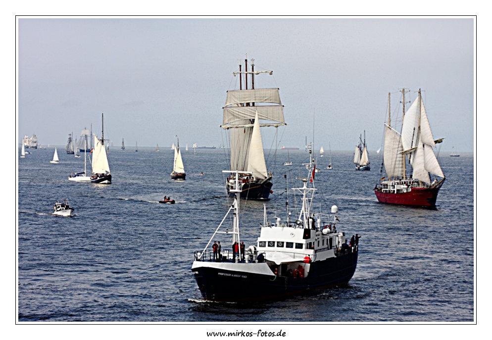 Impressionen von der diesjährigen Hanse Sail