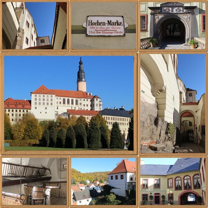 Impressionen von einem Besuch auf Schloß Weesenstein