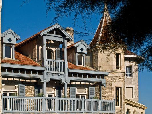 Impressions de Biarritz 13 -- Une maison de l'Avenue Edouard VII, près de la Mairie