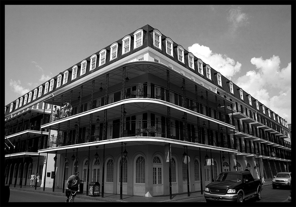 Impressions of Louisiana II - Das Eckhaus