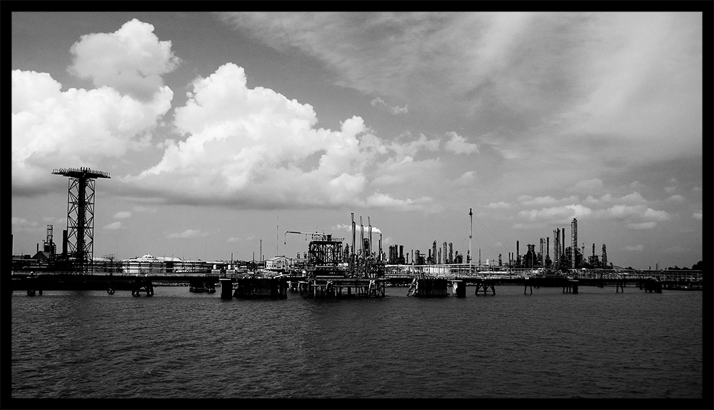 Impressions of Louisiana III - Industrie am Mississippi