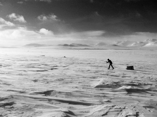 In a Hardangervidda
