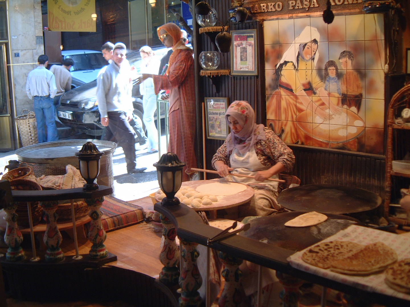 In a Traditional Bakery, Galata District, Istanbul
