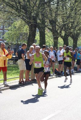 in actie Marathon Rotterdam 2007
