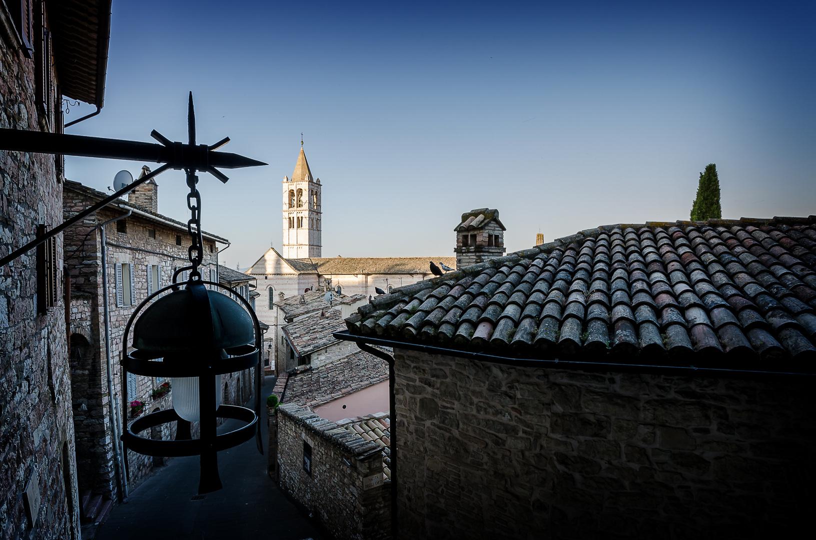 In aller Früh in Assisi