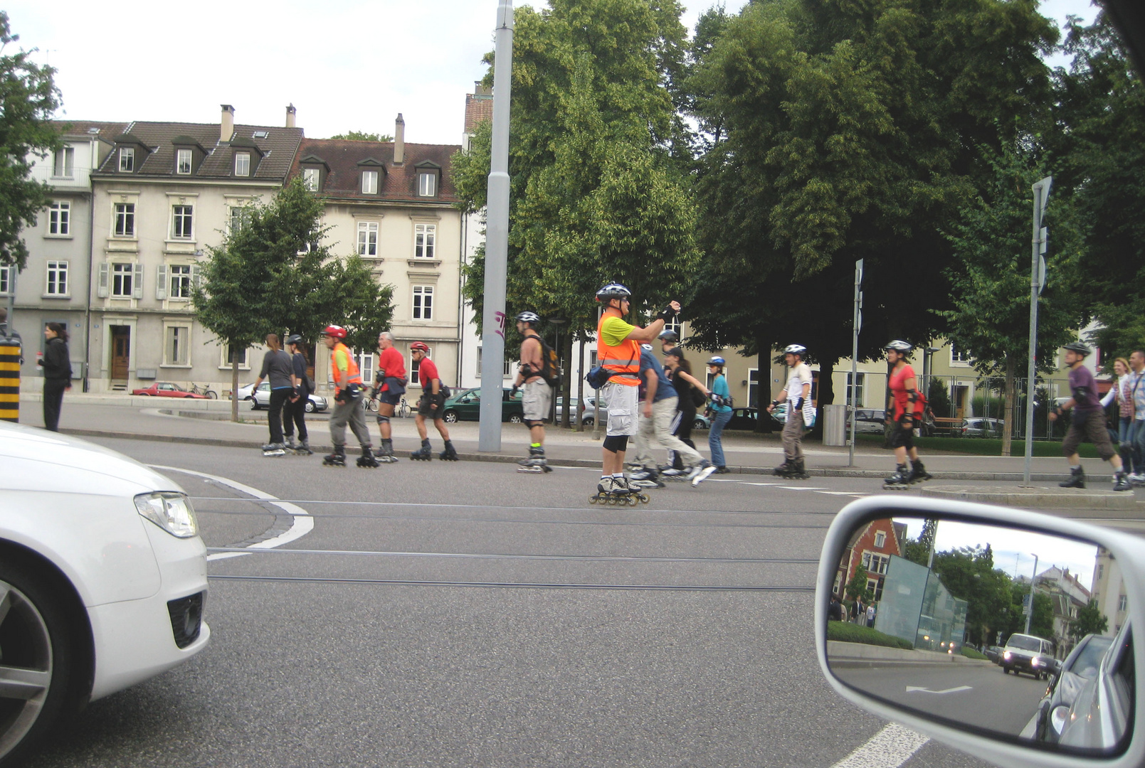 In Basel waren die Skater unterwegs...
