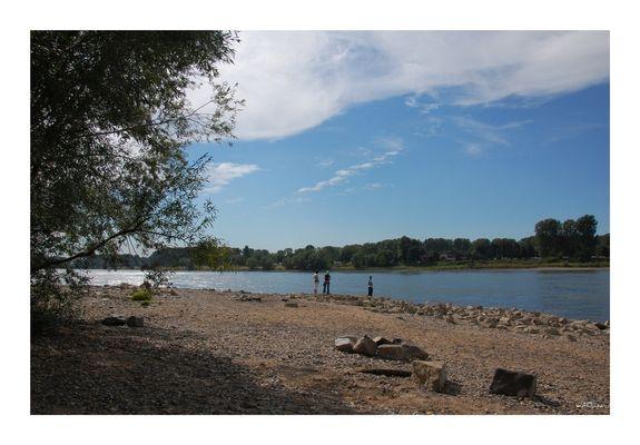 In Benrath am Rhein...