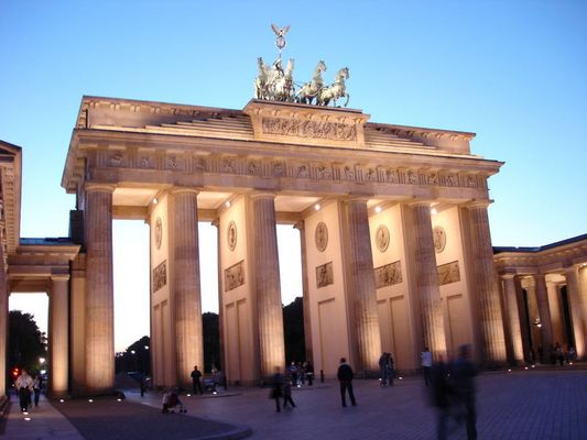 in Berlin Nacht-Licht