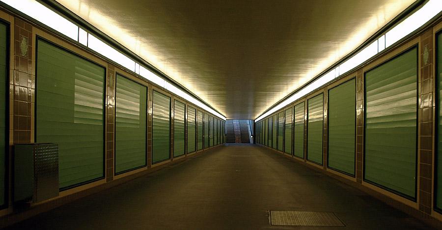 In Berlins Untergrund