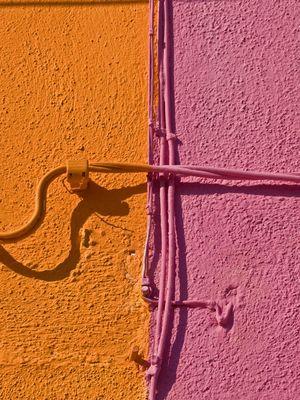 In Burano lieben sie es bunt!