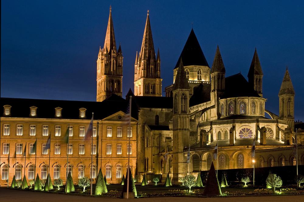 In Caen...