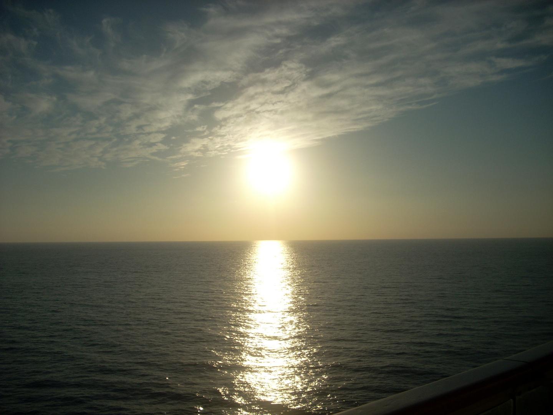 In Capy geht die Sonne auf.