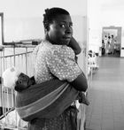 in corsia, Lacor hospital, Nord Uganda