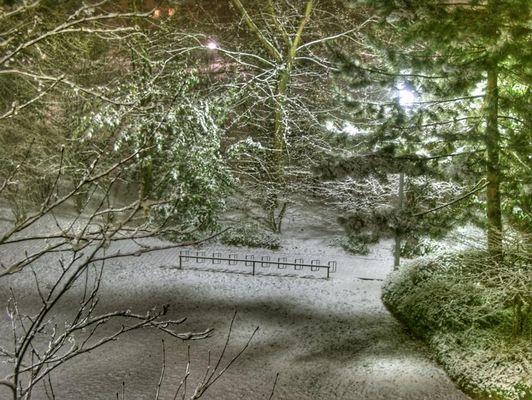 In D. schneit es auch!