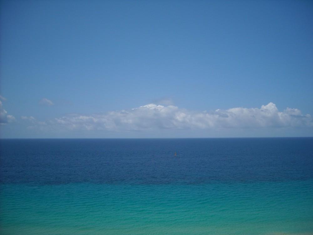 In dem schönen Atlantik bin ich geschwommen