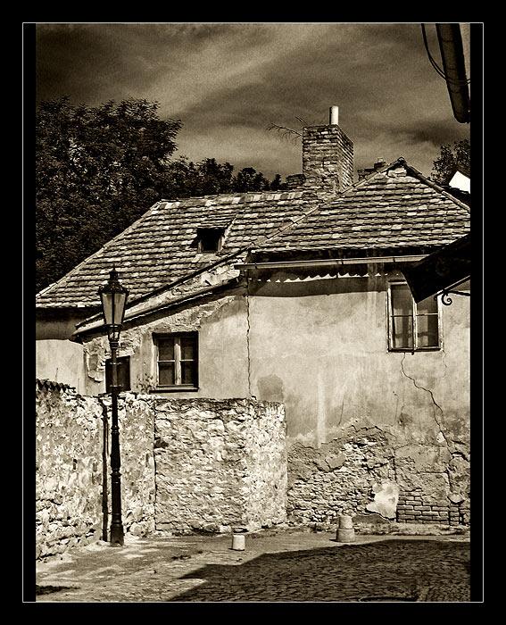 In den alten Gassen von Prag...